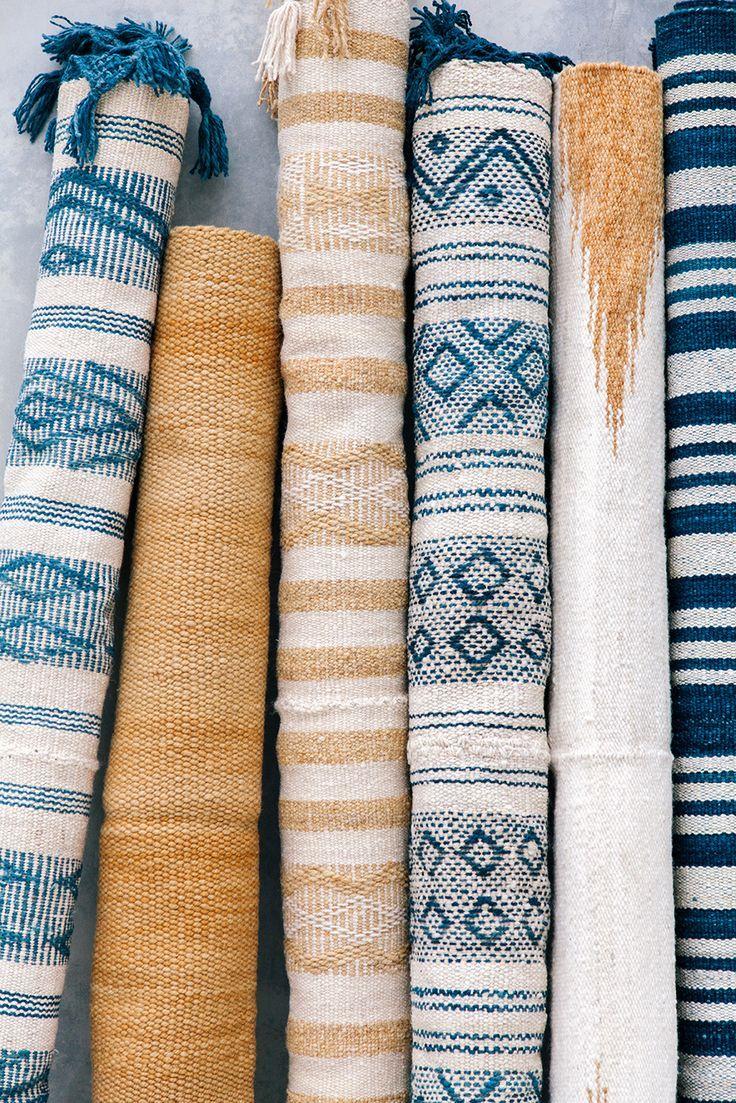 New In Indigo By Pampa Alfombras Textiles Y Casas