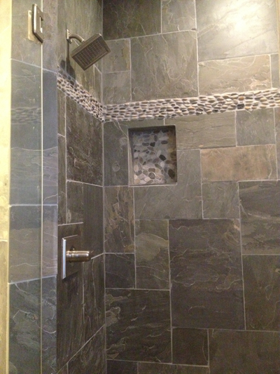 Nice Slate Tile.bathroom   Google Search