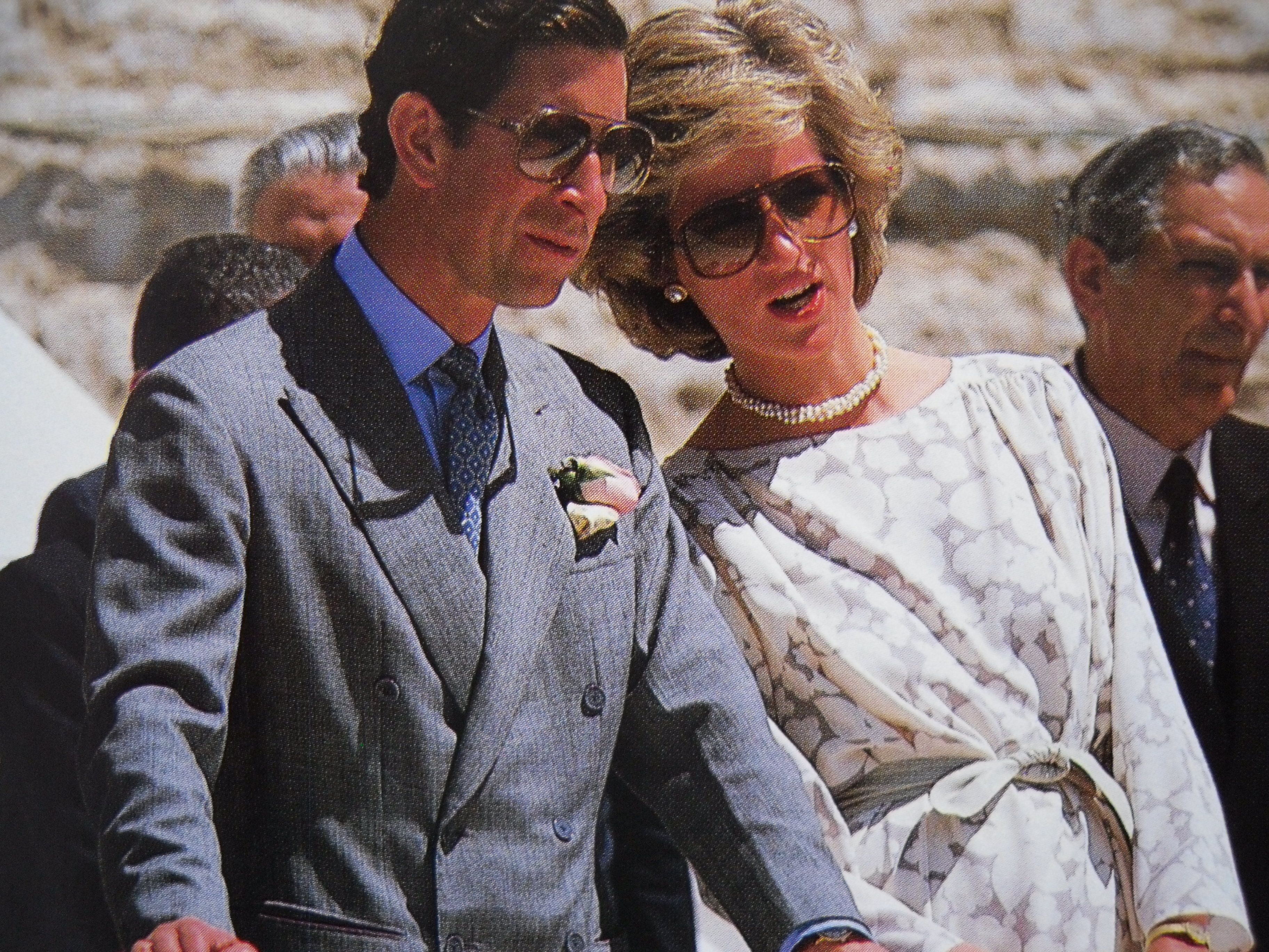 May 2, 1985: Prince Charles & Princess Diana visit the Cathedral in Bari &Trani & are received by a large crowd. Later, they visit a school for deaf children at Molfetta & watch them in a dance. Day 14
