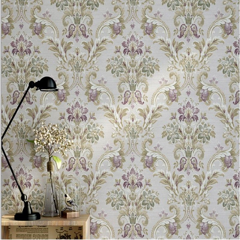 Beibehang Wallpaper For Walls 3d York American Country Style Retro