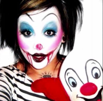 10 cute 'n' creepy clown makeup ideas for halloween with