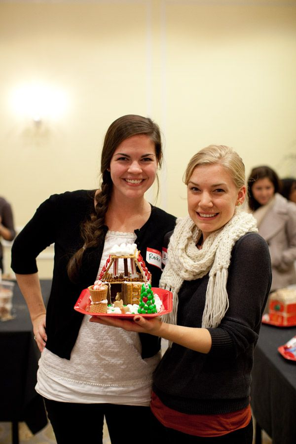 Gingerbread Barns from readers of @Southern Weddings Magazine