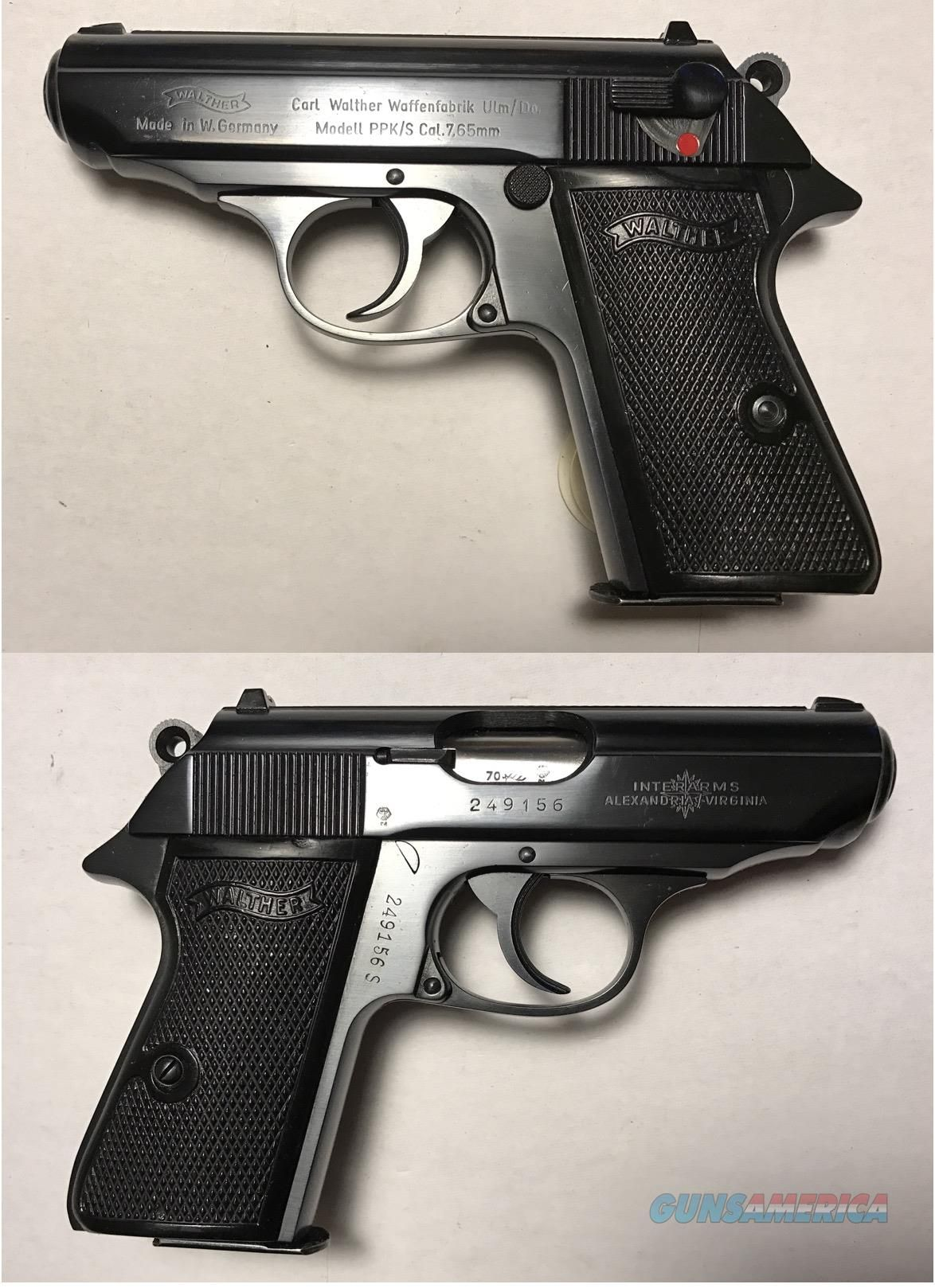 Walther P99 Silenced Survive Amp Thrive T Exploded View Of The Taurus Pt92 Af Also Sig 1911 Diagram German Ppk S 765mm 32acp Mfg 1970 Guns Pistols Post Wwii Series