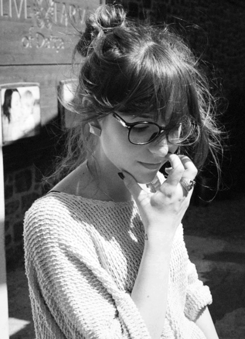 top-knot and fringe love