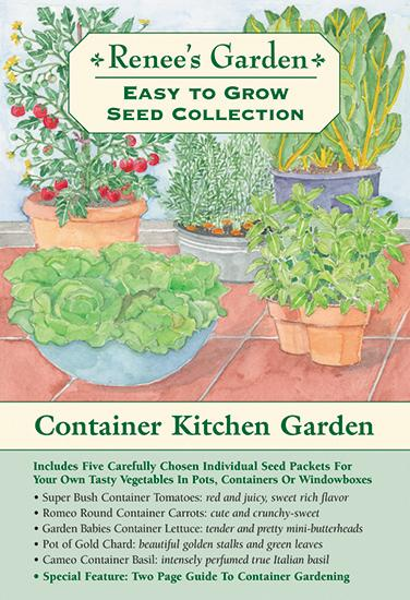 The Container Kitchen Garden Container Gardening Garden Seeds