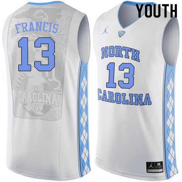 michael jordan north carolina youth jersey
