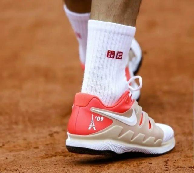 Roger's shoes for Roland Garros 2019 - Nike