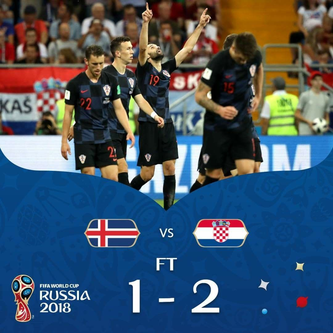 Iceland X Croatia Fifa World Cup Russia 2018 World Cup Russia 2018 Man Of The Match World Cup