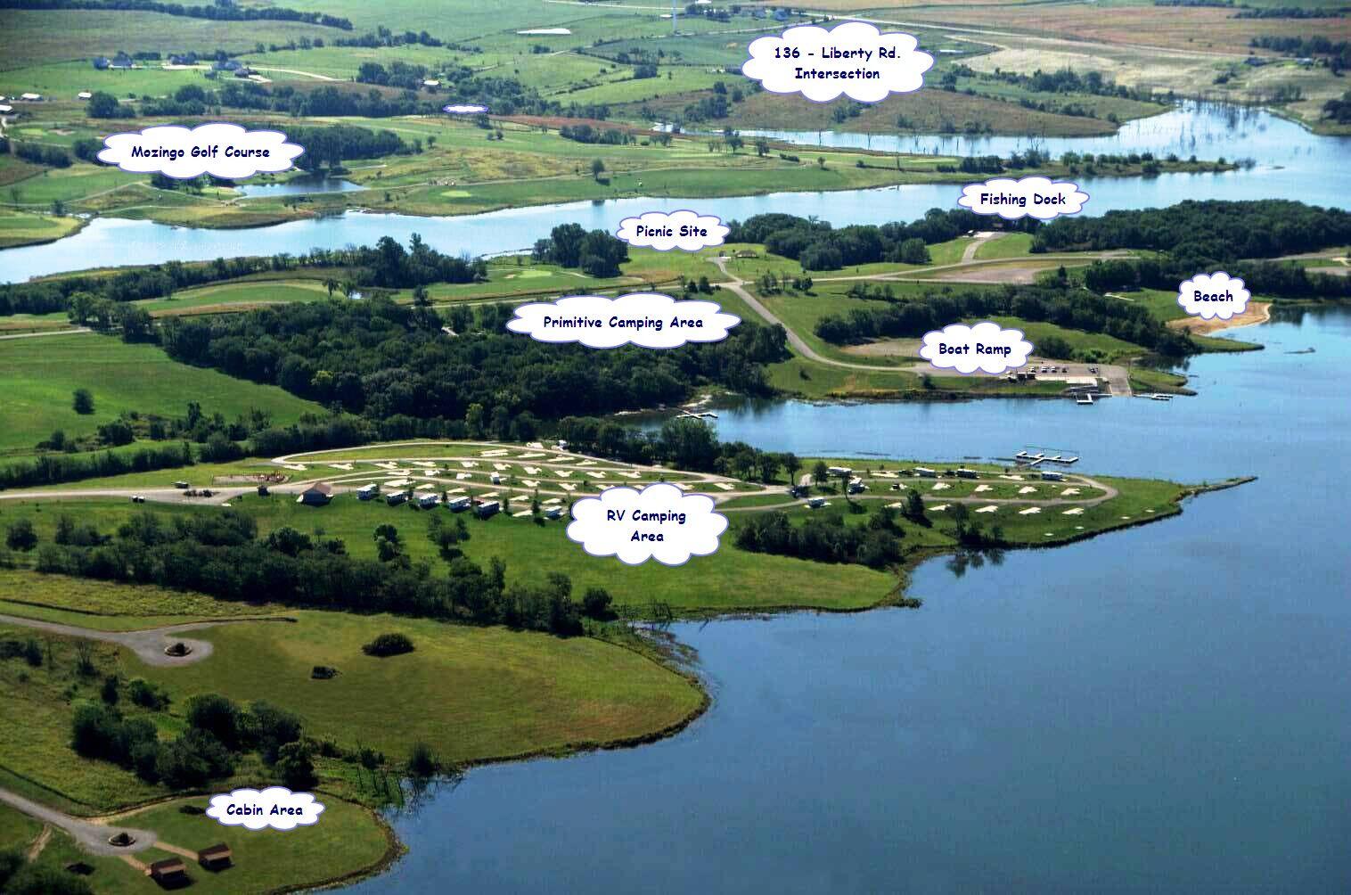 Mozingo lake at maryville mo