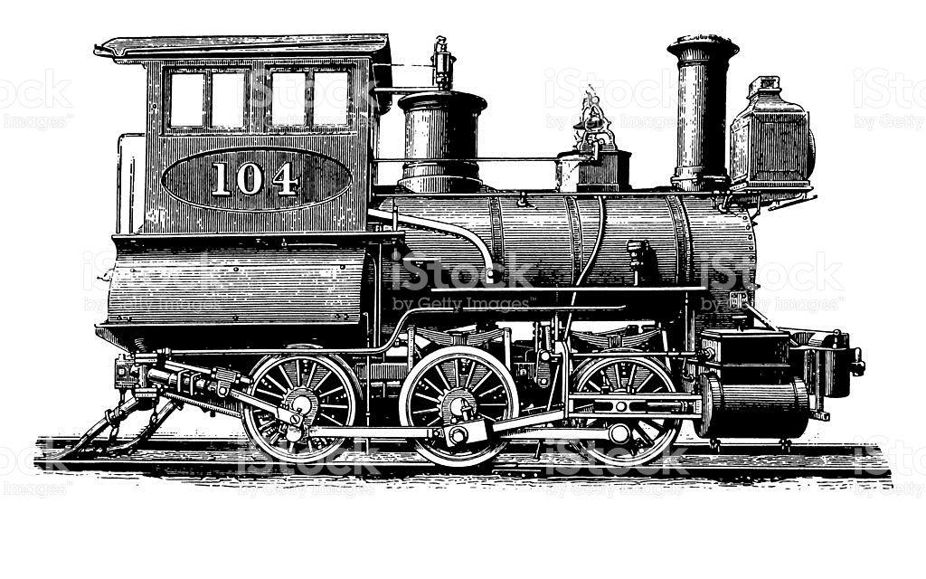 Vintage Clip Art And Illustrations Antique Train Illustration Id173855327 1024 640 Train Illustration Clip Art Vintage Clip Art