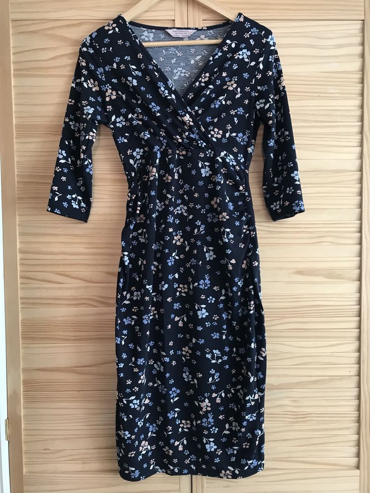 a22d8cede26ad Dorothy Perkins Floral Navy Maternity Dress Size UK 10 #fashion #clothing  #shoes #