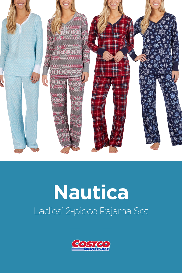 633c74a50 Nautica Ladies  2-piece Pajama Set