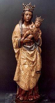 Virgen De La Almudena Madrid La Virgen De Montserrat Imágenes De La Virgen Virgen María