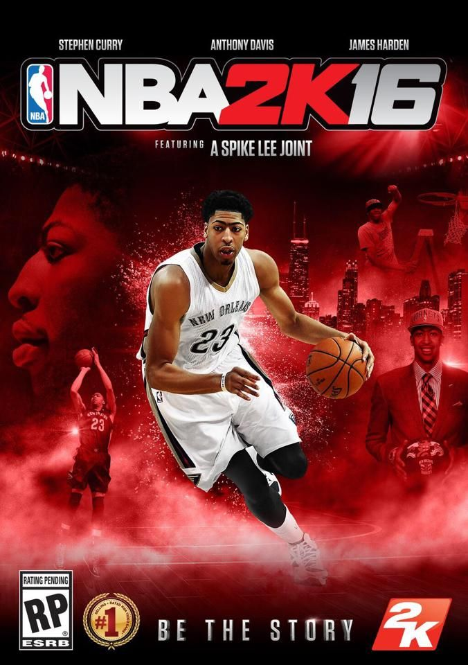 Steph Curry Harden Anthony Davis Grace Covers For Nba2k16 A Spike Lee Joint Anthony Davis Nba Video Games Ps4
