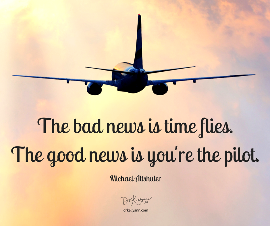 """Who Said Time Flies When You Re Having Fun Quote: Michael Altshuler Once Said, """"The Bad News Is Time Flies"""