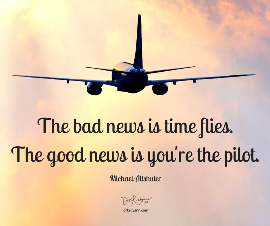 "Michael Altshuler Once Said, ""The Bad News Is Time Flies"