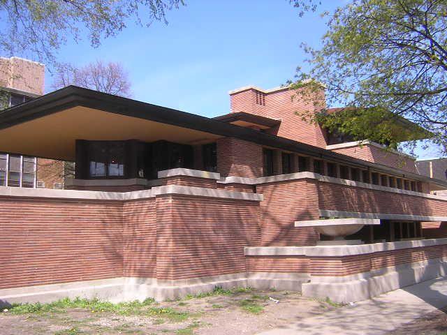 Frederick C Robie House 5757 S Woodlawn Chicago Frank Lloyd