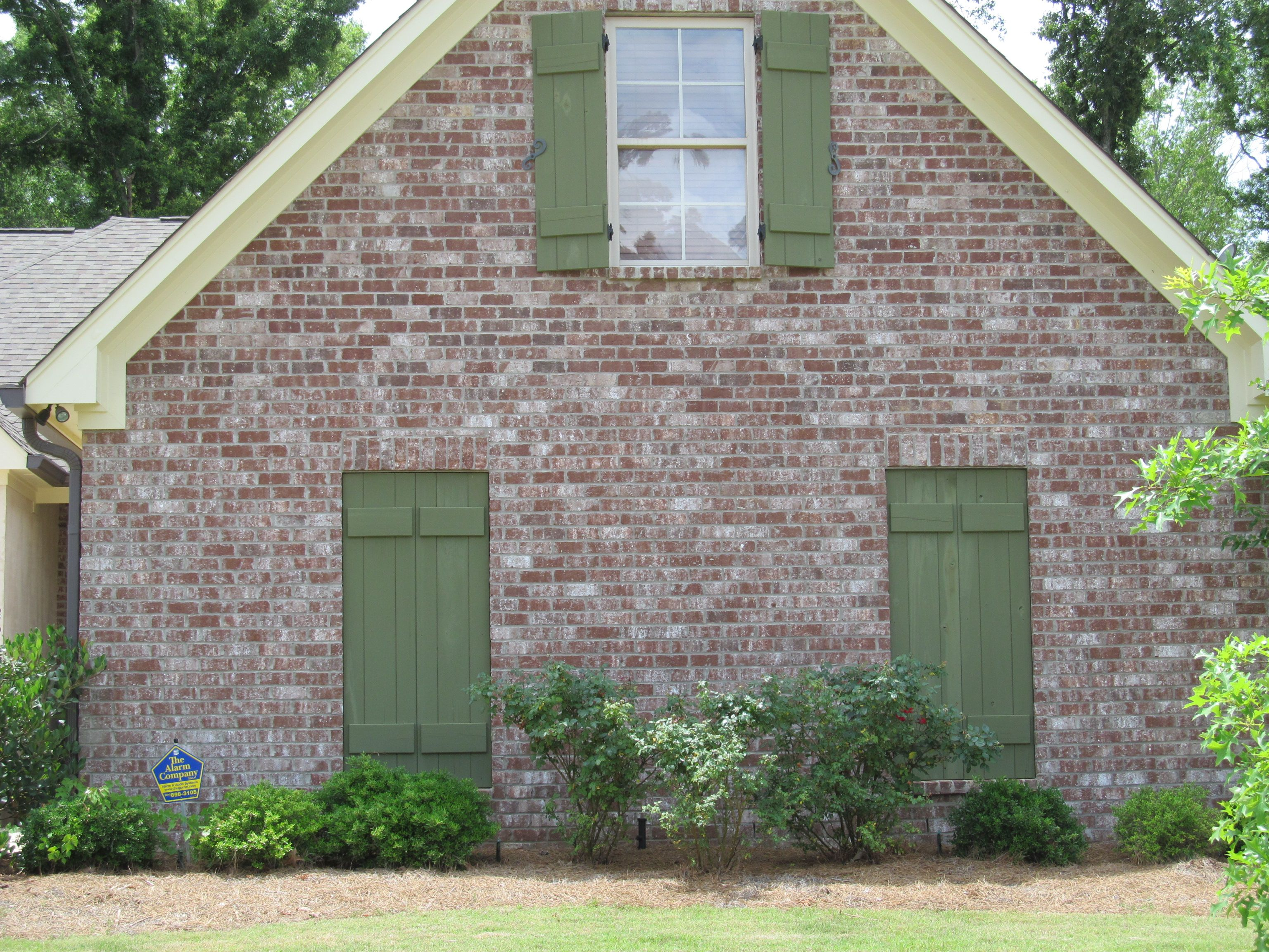 Cbc Annadale Brick With Grey Mortar Jackson Ms House Exterior Outdoor Decor New Homes