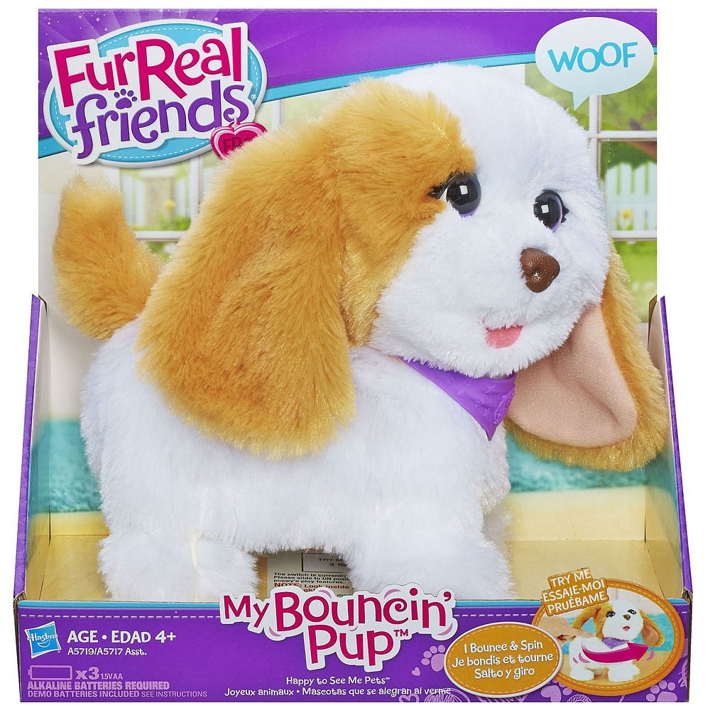 Cute Educational Puppy Toys For Kids Fur Real Friends Toy Puppies Pets