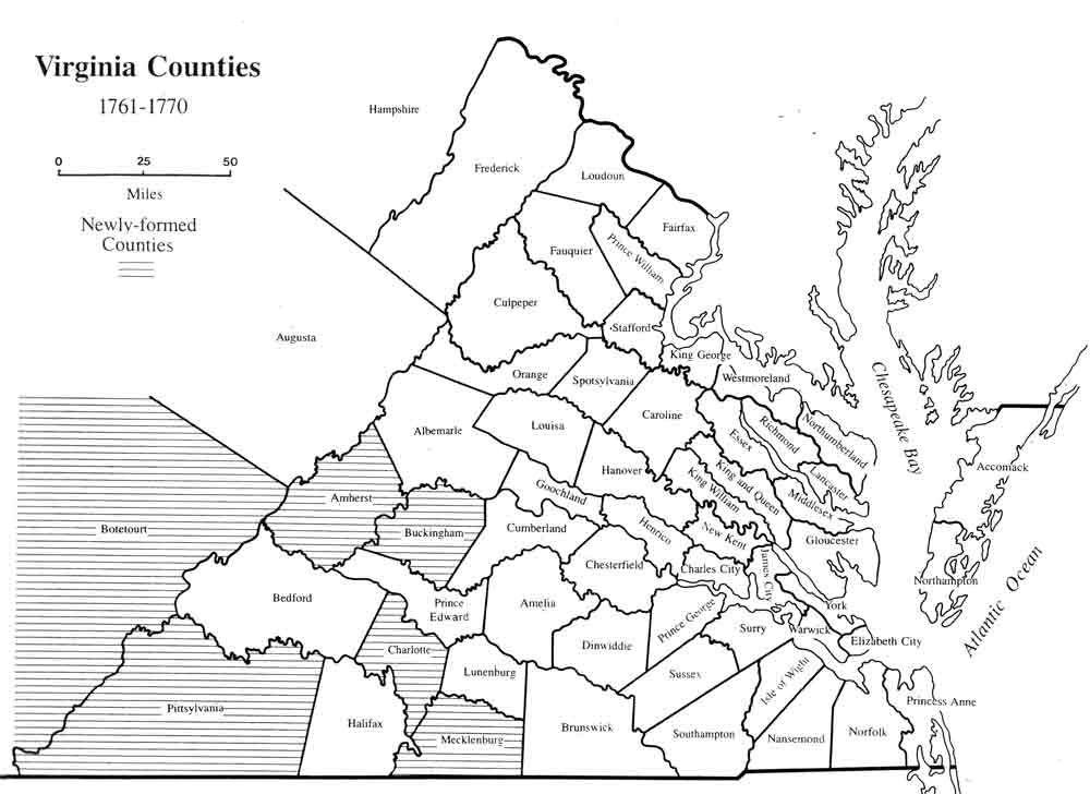 Map Of Virginia Counties 1800.Hailfax Virginia 1800 Maps Of Virginia Counties 1634 1800