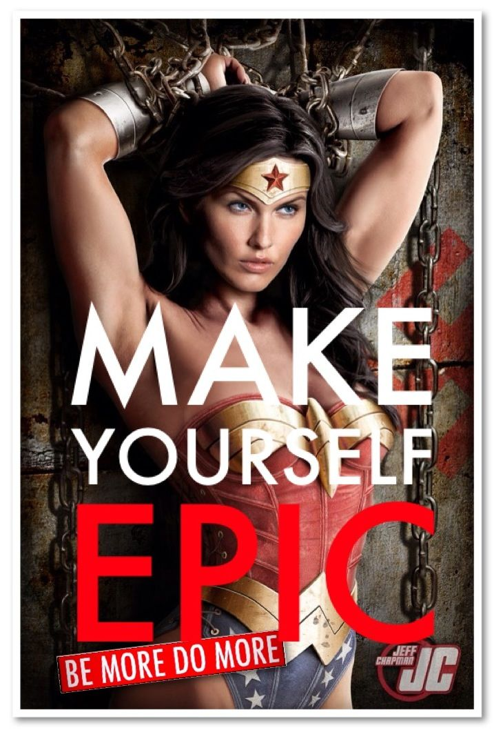 Wonder Woman Fitness Quotes: Make Yourself EPIC