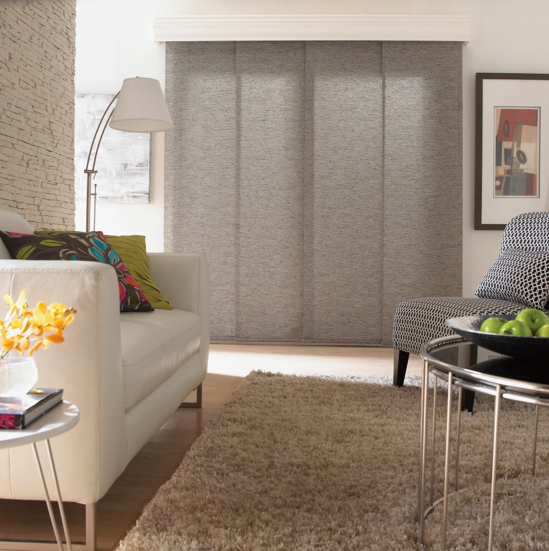 Give Your Room A Sleek Look With Panel Track Window Coverings