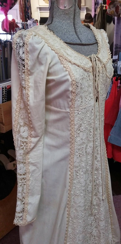 Gunne sax wedding dress  Vintage Dress Gunne Sax by Jessica San Francisco Maxi Dress Lace