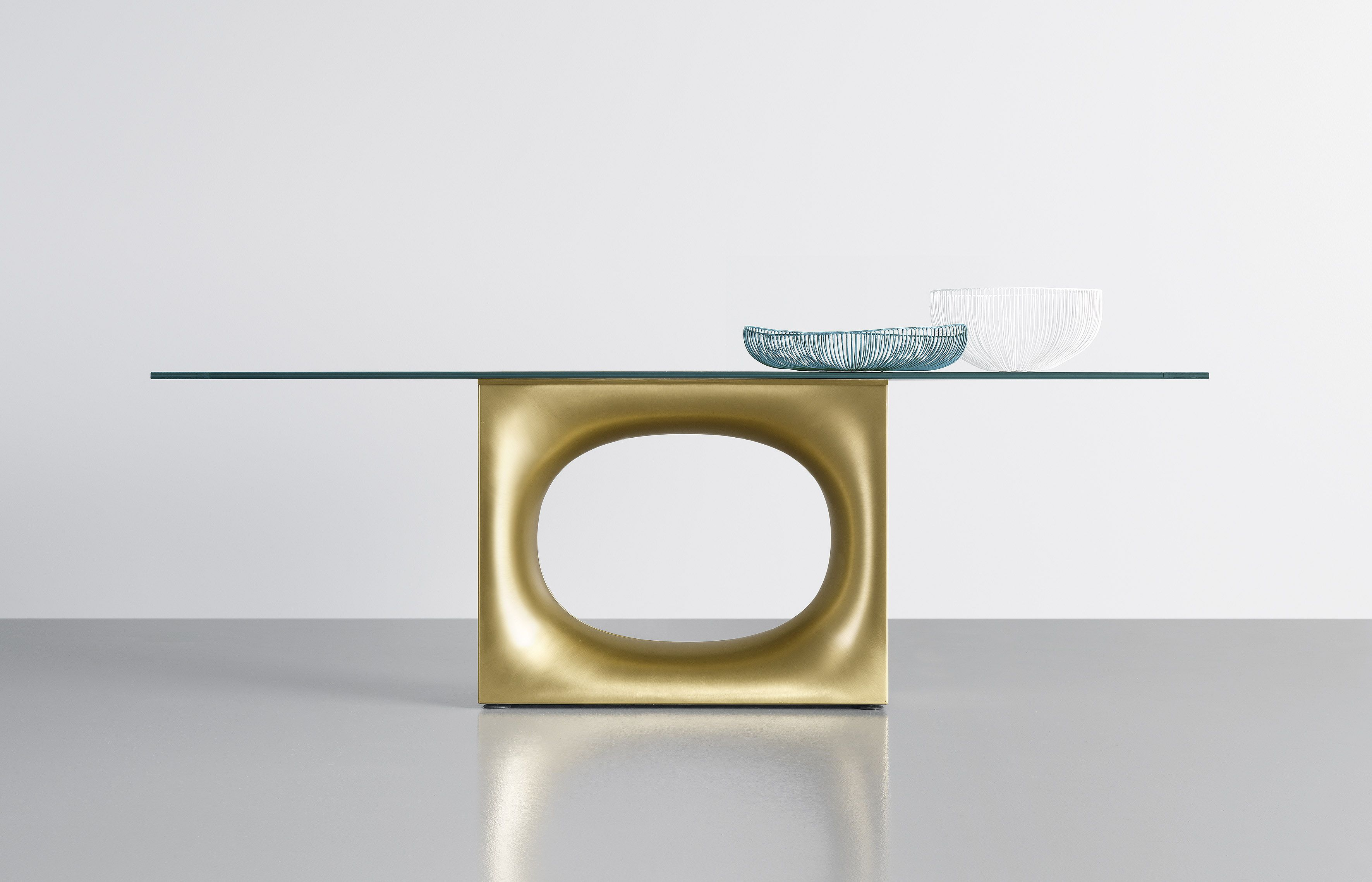 Holo Table Coffee Table And Console In Fenix Ntm Glass Or Wood Glass Table Dressing Table Design Table [ 2277 x 3543 Pixel ]