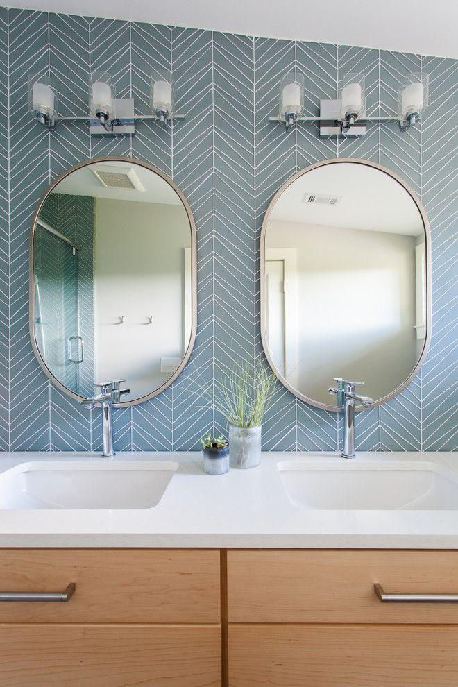 20 Best Oval Mirror Ideas For Your Bathroom Oval Mirror Bathroom