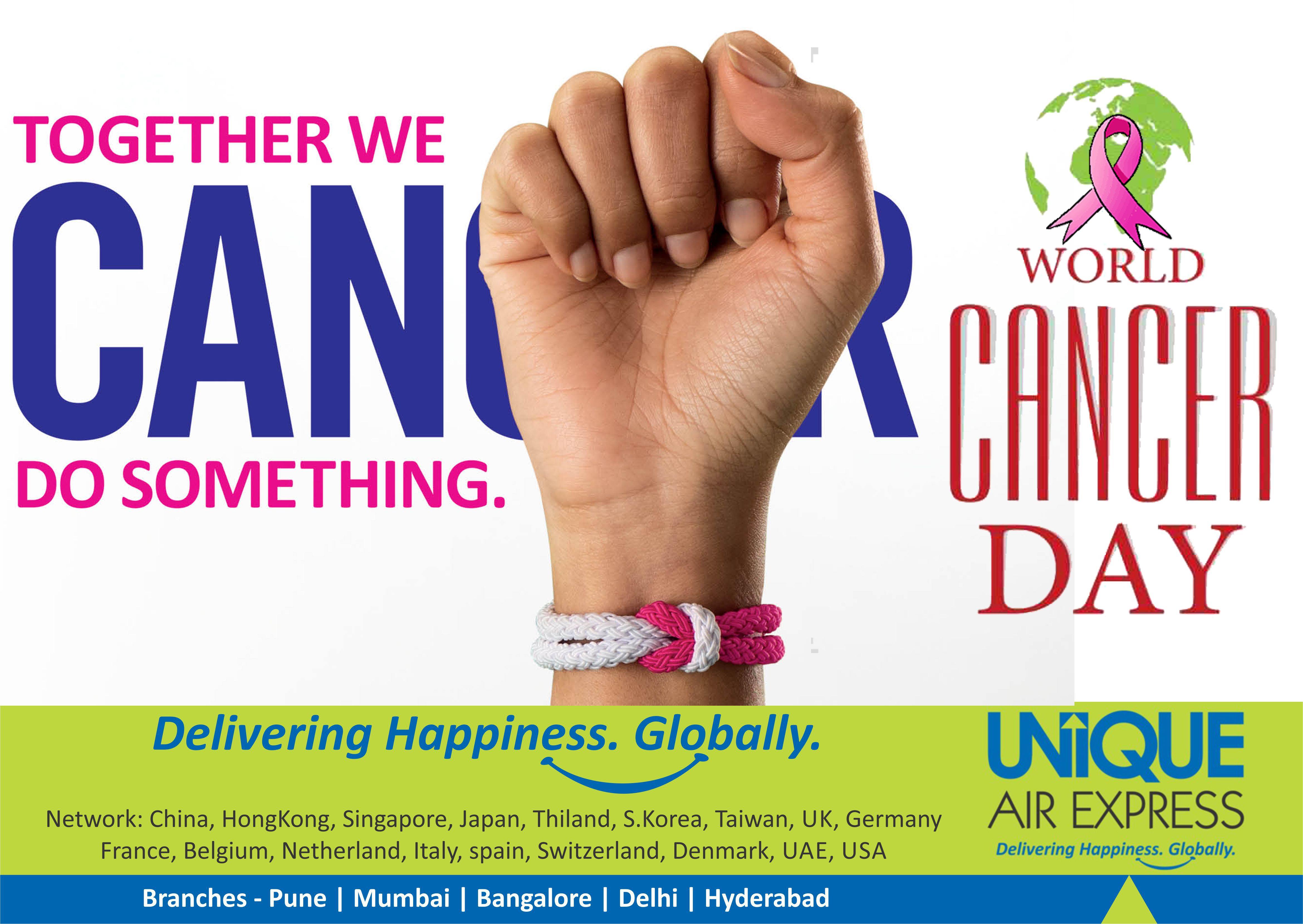 Today is #WorldCancerDay. Here is one of the ways to reduce the #cancer risk. Let's share this and help stop cancer being a killer & let's beat the Killer Disease Together. #wecanIcan World Cancer Day, International Cancer Support & Awareness, #CancerDay World Health Organization (WHO)