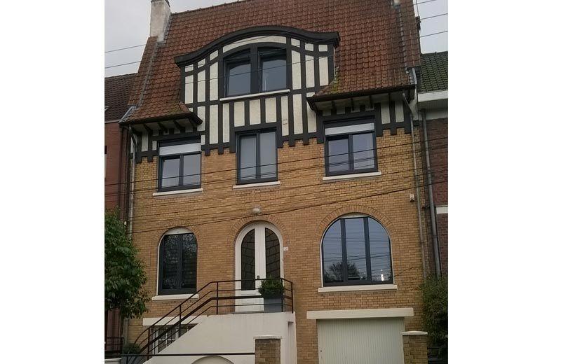 Pose fenêtres pvc Oknoplast sur Lille Fenêtres et portes d\u0027entrée - pose d une porte d entree