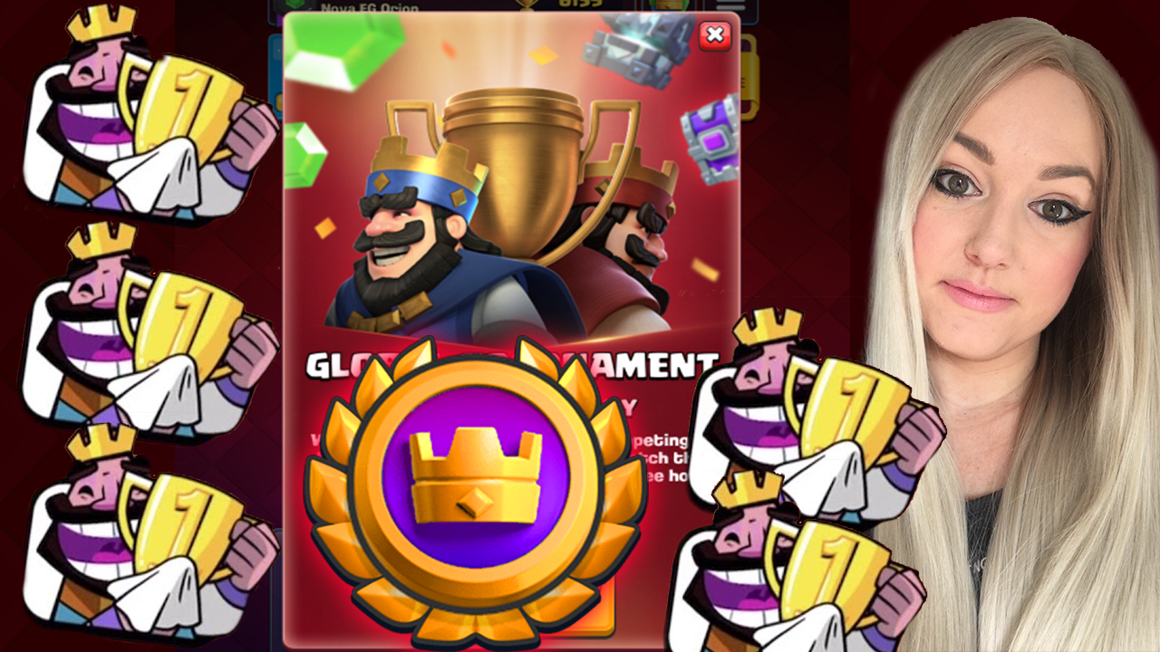 The Best 2 8 Miner Cycle Deck For New Global Tournament In Clash Royale