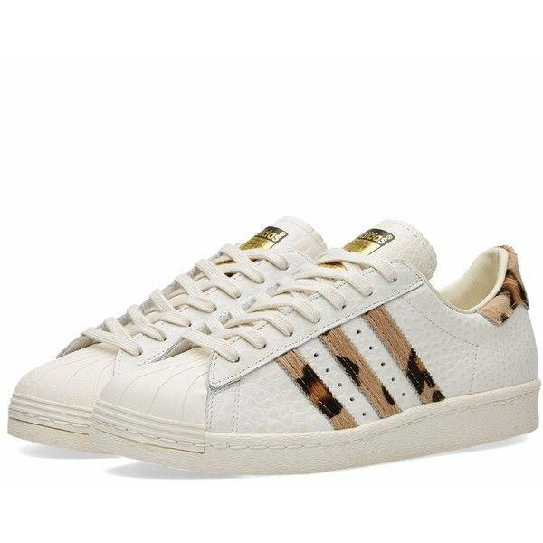 size 40 eff26 a8167 Adidas Superstar 80s Animal ($120) ❤ liked on Polyvore ...