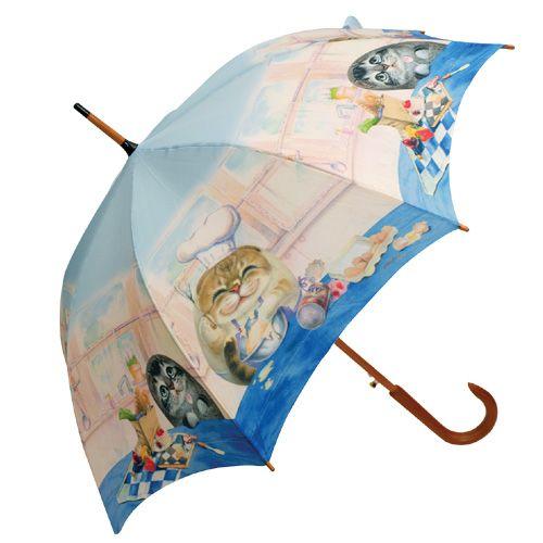 Bellan kokkaukset eivät jätä ketään huonon tuulen armoille. Tästä piristävä sateenvarjo ihanalla vintage kahvalla. Loihtii hymyn vastaantulijoiden kasvoille harmainpanakin päivänä.
