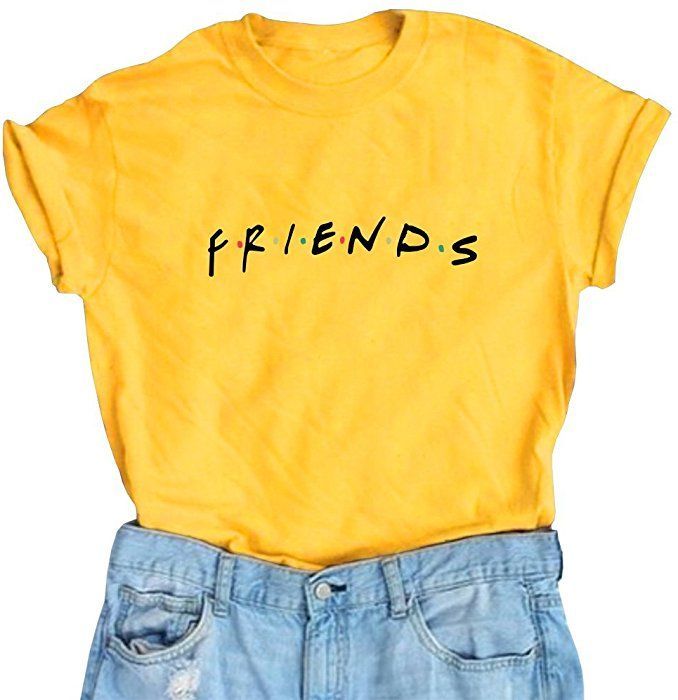 c3aa0a44 Amazon.com: Erxvxp Women Cute T Shirt Junior Tops Teen Girls Graphic  Printed T-Shirt (Small, Yellow): Clothing