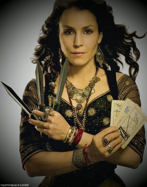 Noomi Rapace as Sim (Sherlock Holmes: A Game of Shadows ...