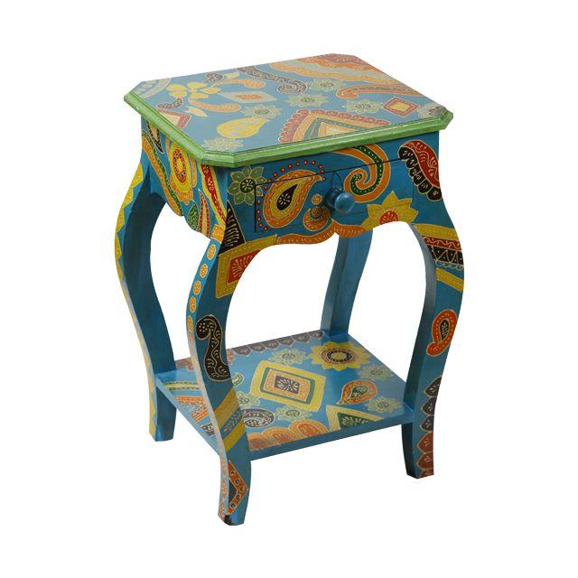кухня/гостинная Стол декоративный деревянный 40x35x61см Q05270015
