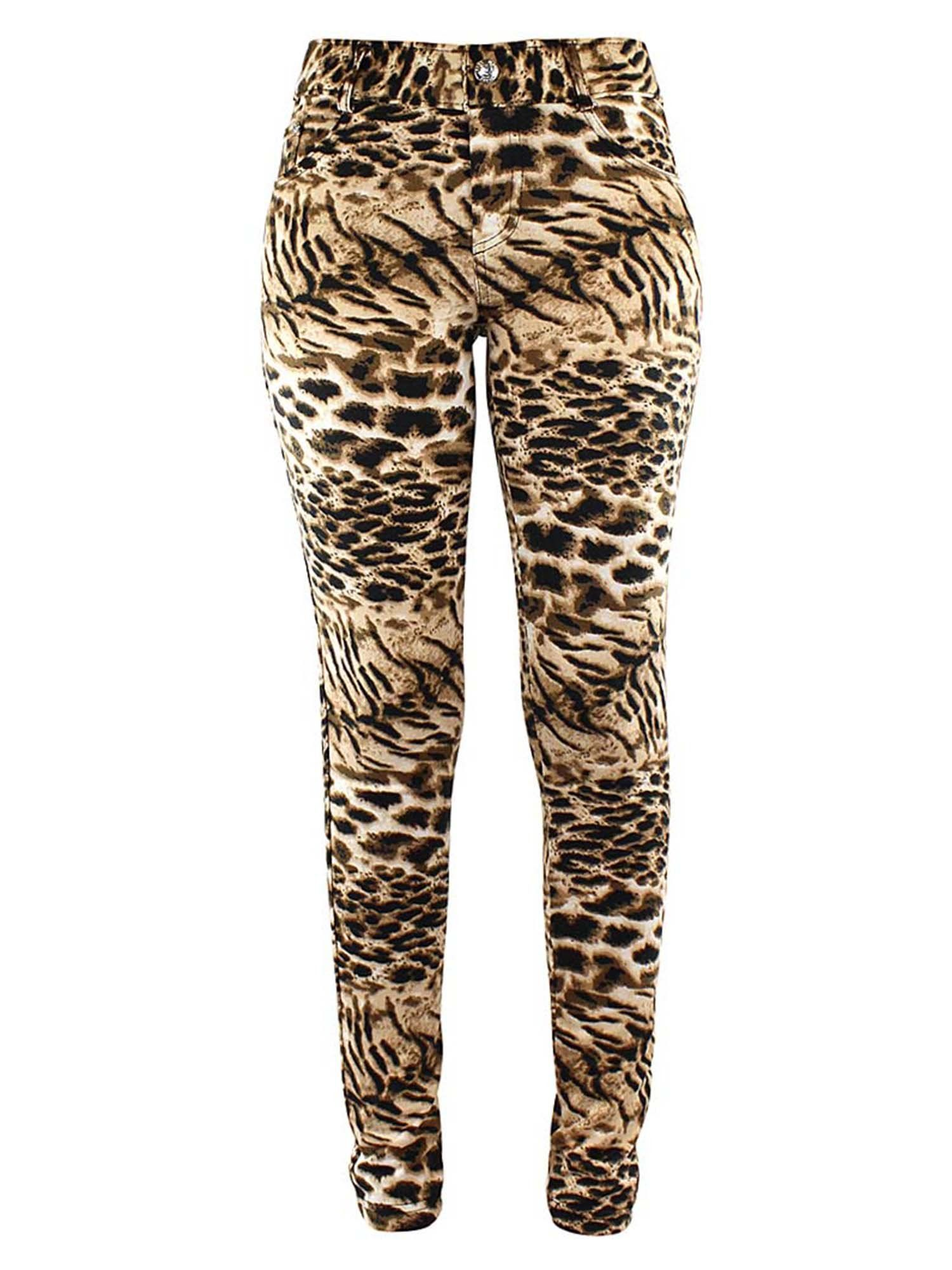 0f6cdd38dafe3 Leopard Print Jeggings With Pockets in 2019 | Leggings & Bottoms ...