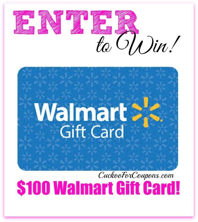 Walmart giveaways
