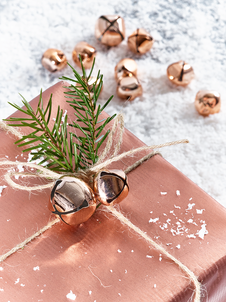 Jingle All The Way With Our Barrel Full Of Copper Coloured Round Bells.  Each Barrel Includes Approximately Forty Eight Bells Of Three Different  Sizes, ...