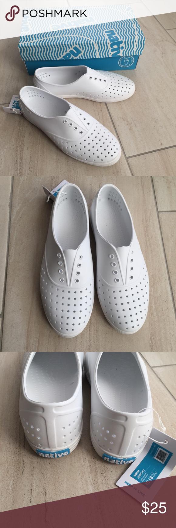 Jericho white sneaker size