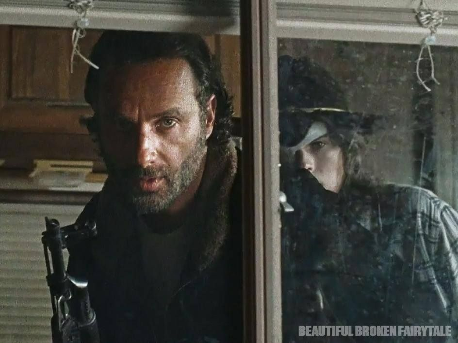 Rick and Carl <3 <3