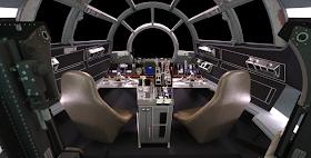 Stinson S All Things Star Wars Blog Falcon Cockpit Esb Part 3 Star Wars Ships Star Wars Millennium Falcon