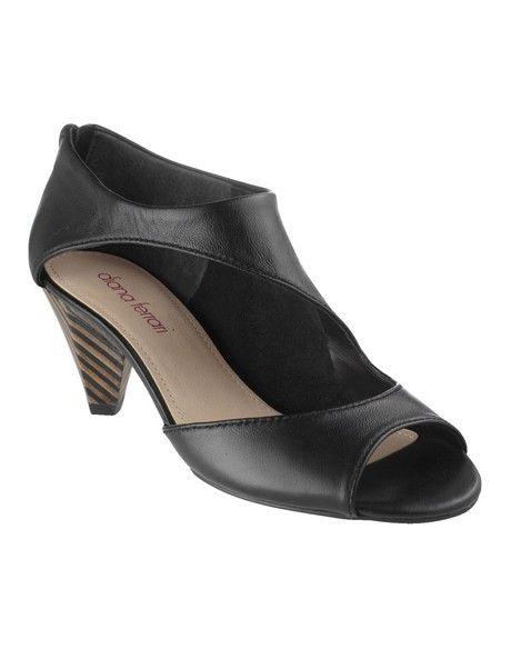 fd30788b7dc1 Diana Ferrari Shoes -  Domino  Sandal in Black