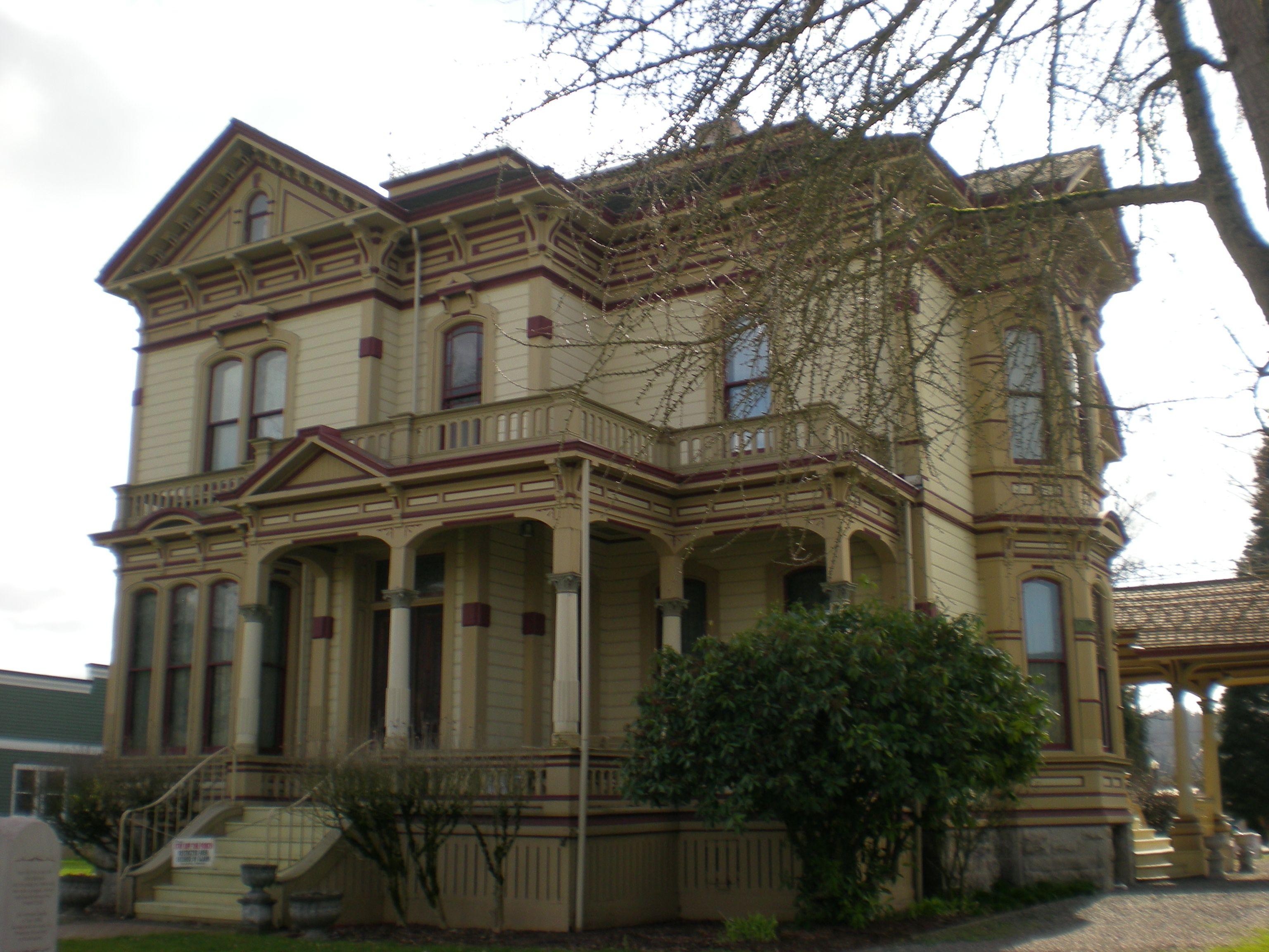 File Ezra Meeker Mansion 2 Jpg In 2020 Meeker Mansion Mansions Victorian Homes
