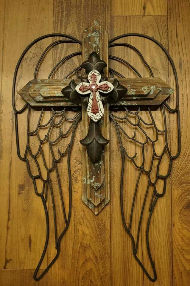 Pretty Cross! | Cross wall decor, Rustic cross, Wall crosses