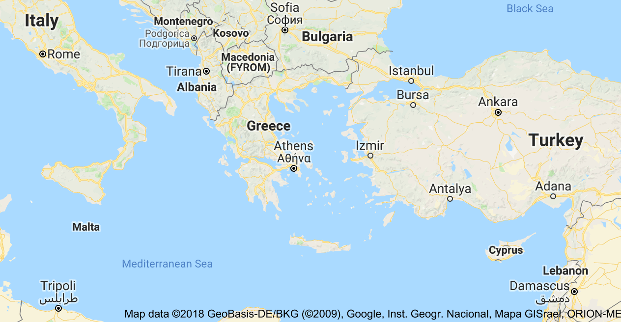 Map Of Greece Italianomix Map Diagram Greece