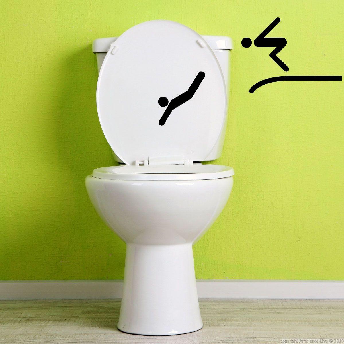 Salle De Bain Stickers ~ sticker deux plongeurs toilet walls and creative