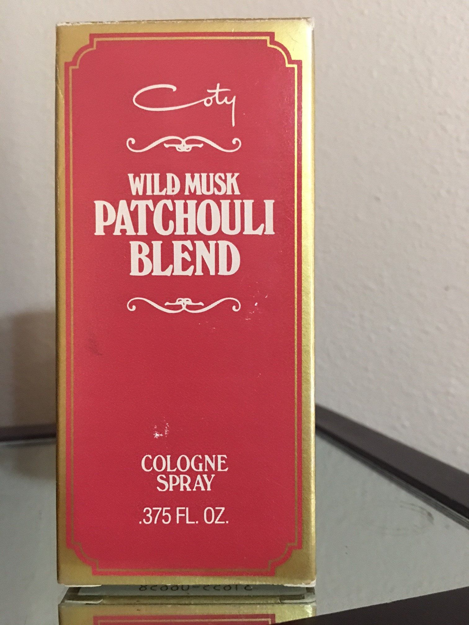 Vintage Wild Musk Patchouli Blend By Coty Div Pfizer By