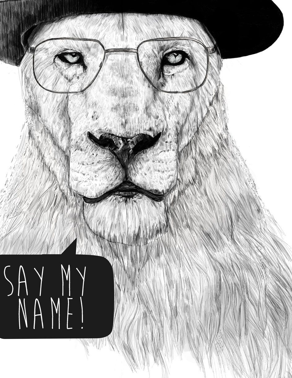 Fancy - Say My Name Print by Balazs Solti